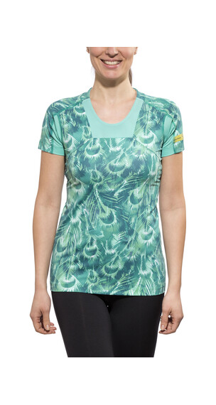 GORE RUNNING WEAR AIR PRINT - Camiseta Running - Turquesa